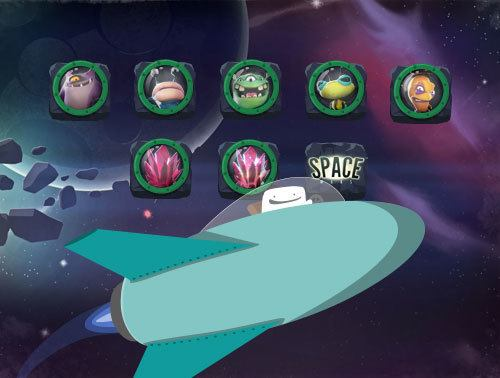 Samle alle trofeene i Space Wars og vinn en iPad.
