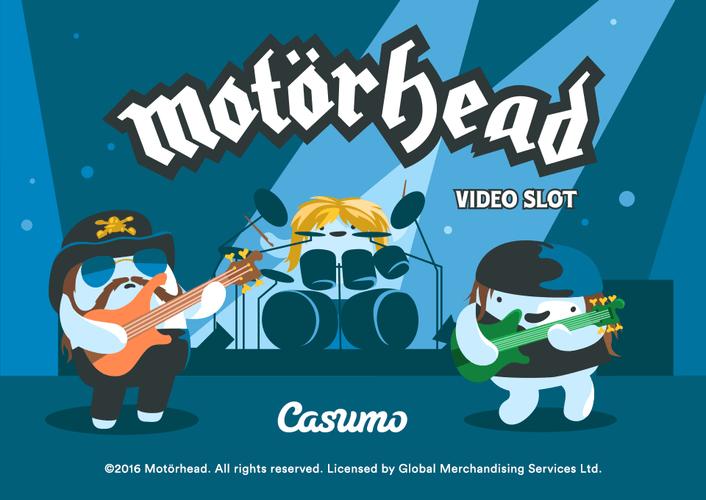 Casumo gir deg NetEnts Motörhead