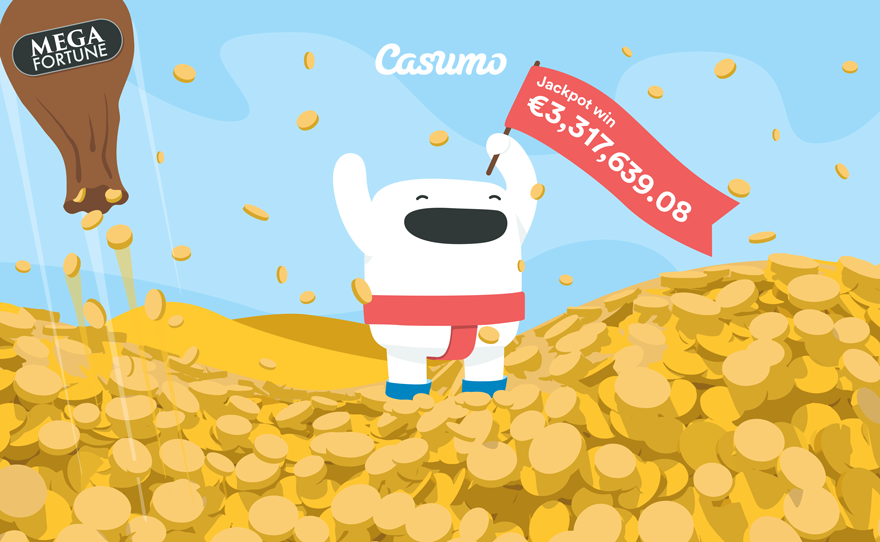 Mega Fortune jackpotten vunnet på Casumo Casino!