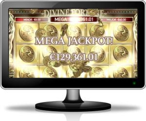 Anmeldelse av spilleautomaten Divine Fortune