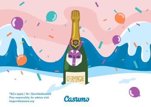 Få et riktig godt nytt år hos Casumo