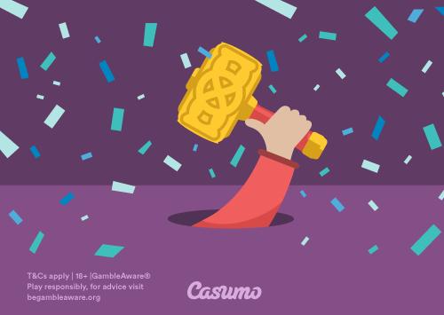 Nyhet – avgiftsfrie innskudd hos Casumo!