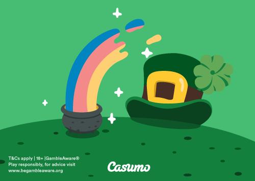St. Patrick's Day – Vinn €5000!