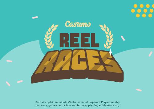 50 spillere vinner i store Reel Race!