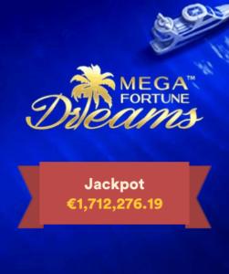 Vinn både €2000 og en jackpot i Mega Fortune Dreams Reel Race hos Casumo Casino