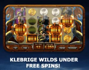 Få klebrige wild under spillet free spins i Vikings Go Wild slot
