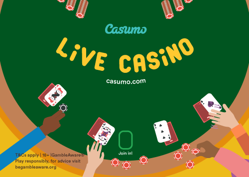 Casumo live blackjack – prøv det idag!