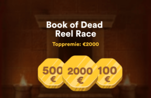 Vinn €2000 i Book of Dead Reel race hos Casumo Casino