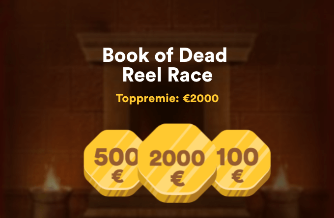 Vinn €2000 i Book of Dead Reel race hos Casumo Casino
