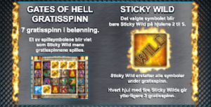 Gates of Hell er en type free spins i Danger High Voltage slot