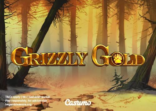 Grizzly Gold – nytt eksklusivt spill fra Blueprint hos Casiumo Casino