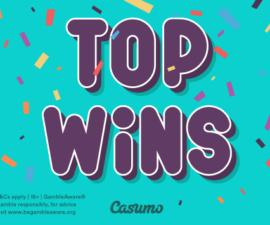 De største gevinstene hos Casumo