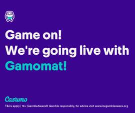 Gamomat – nå hos Casumo