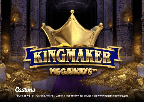 Kingmaker slot kun hos Casumo