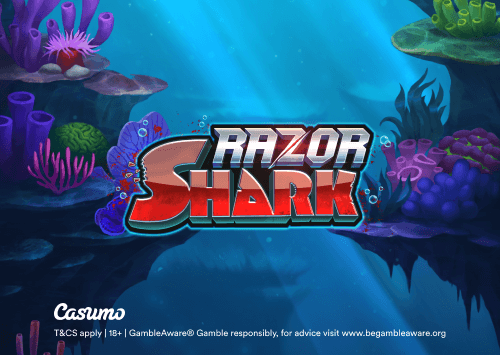 Razor Shark spilleautomat eksklusivt hos Casumo