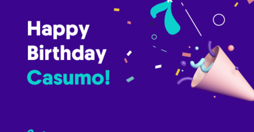 Casumo fyller 7 år!