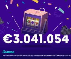 Finsk spiller vant 3 millioner hos Casumo