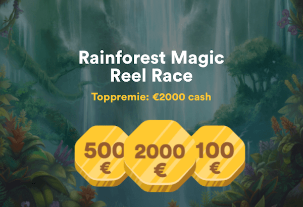 Rainforest Magic Reel Race hos Casumo