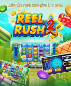 Spill Reel Rush 2 hos Casumo Casino