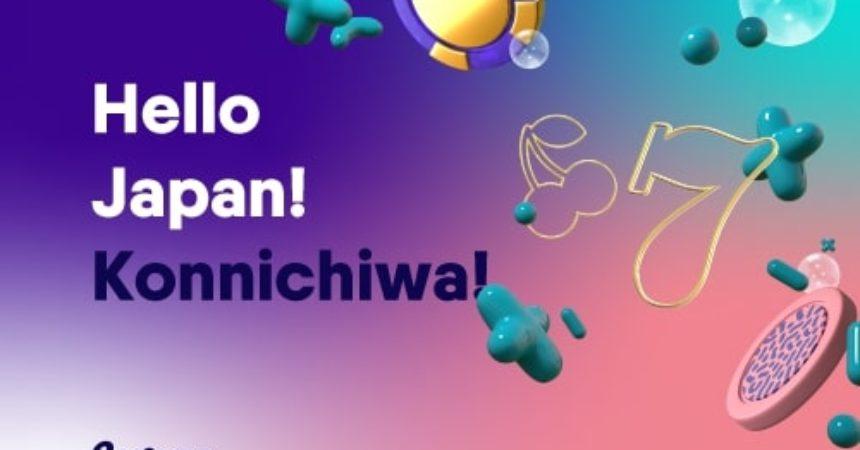 Hello Japan! Konichiwa!